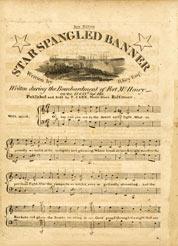 star spangled banner manuscript